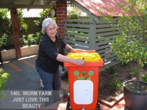 WORM FARM 140 LITRE JUST LOVE THIS BEAUTY