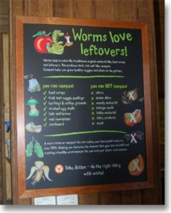 WORMS LOVE LEFTOVERS
